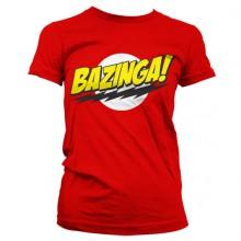 Bazinga Super Logo Pigetrøje