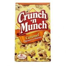 Crunch Munch Caramel - Popcorn med jordnødder og karamel