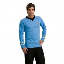 Star Trek Classic Deluxe Blå Skjorte