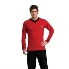 Star Trek Classic Deluxe Rød Skjorte