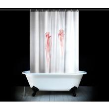 Blodigt Badeforhæng