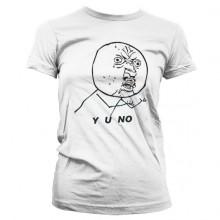 Y U NO Dame T-Shirt