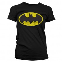 Batman Distressed Dame T-shirt