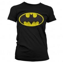 Batman Distressed Dame T-shirt