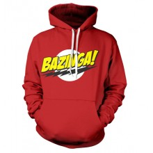 Big Bang Theory Bazinga Logo Hættetrøje
