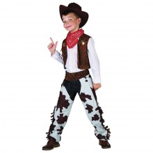Fastelavndragt Cowboy Barn