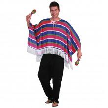 fastelavndragt Mexicansk Poncho