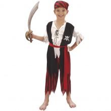 Piratdreng Fastelavnsdragt Barn