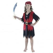 Piratpige Fastelavnsdragt Barn