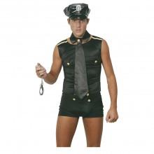 Sexet Politibetjent Kostume (Mand)