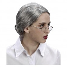 Paryk Grå Dame