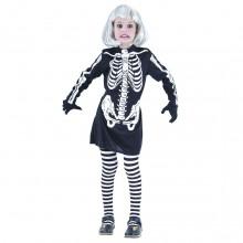 Skelet Kjole Fastelavn Barn