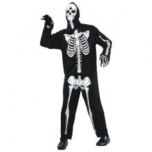 Skelet Fastelavndragt Budget