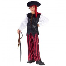 Pirat Fastelavnsdragt Barn