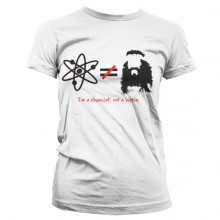 The Big Bang Theory - I'm A Physicist, Not A Hippie Dame T-shirt