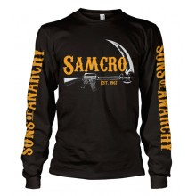SAMCRO Est. 1967 Long Sleeve T-Shirt Sort