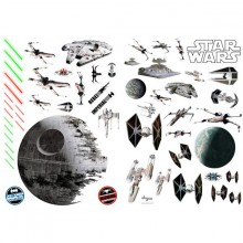 Star Wars Fartøjer Klistermærker