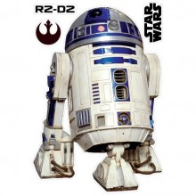 Star Wars R2-D2 Vægdekoration