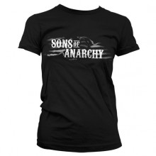 Sons Of Anarchy SOA Flag Logo Girly T-Shirt