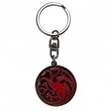 Game Of Thrones Targaryen Nøglering