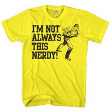 Superman I'm Not Always This Nerdy T-Shirt