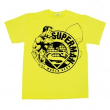 Superman World Hero Sketch T-Shirt