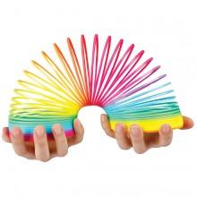 Regnbuefarvet Slinky