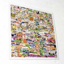 Million Dollar Homepage Plakat