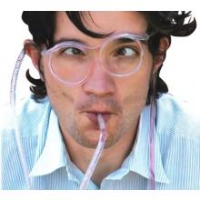 Sugerørs-briller