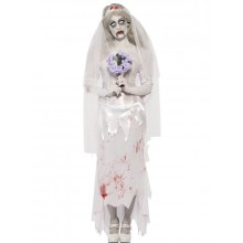 TILL DEATH DO US PART ZOMBIE-BRUD - KOSTUME