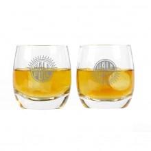 Whiskyglas Half Full Half Empty 2-pak