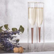 Champagneglas Inside Out 2-pak