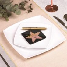 Bordplaceringsplader Hollywoodstjerne 6-pak