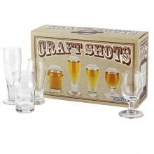Shotglas Craft Beer 4-pak