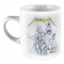Metallica Mugg - And Justice for All