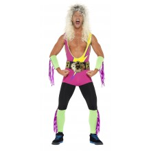 Retro Wrestler Kostume