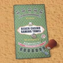 Strandhåndklæde Casino