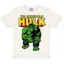 Marvel Hulk T-shirt Børn Hvid