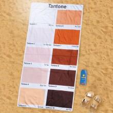Strandhåndklæde Solbrændt