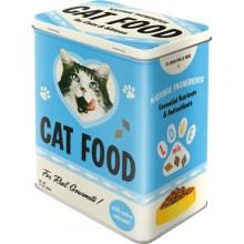 Metaldåse Retro Cat Food