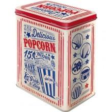 Metaldåse Retro Popcorn