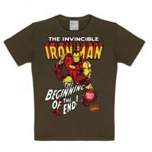Marvel Iron Man T-shirt Børn Brun