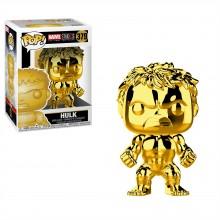 Marvel POP! Vinyl Hulk Gold Chrome
