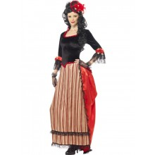 AUTENTISK WILD WEST SWEETHEART-KOSTUME