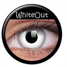 Farvede linser crazy total whiteout