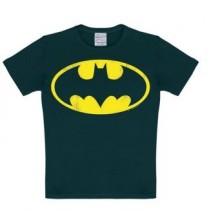 Batman Logo T-shirt Børn Sort
