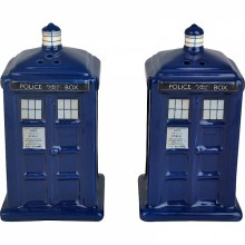 Doctor Who Salt & Peber TARDIS