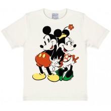 Disney Mickey & Minnie T-shirt Børn Hvid