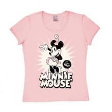 Disney Minnie Mouse Since 1928 Pige T-shirt Rosa