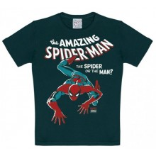 Marvel The Amazing Spiderman T-shirt Børn Sort